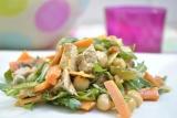 Méli-Mélo de porc, carottes et poischiches